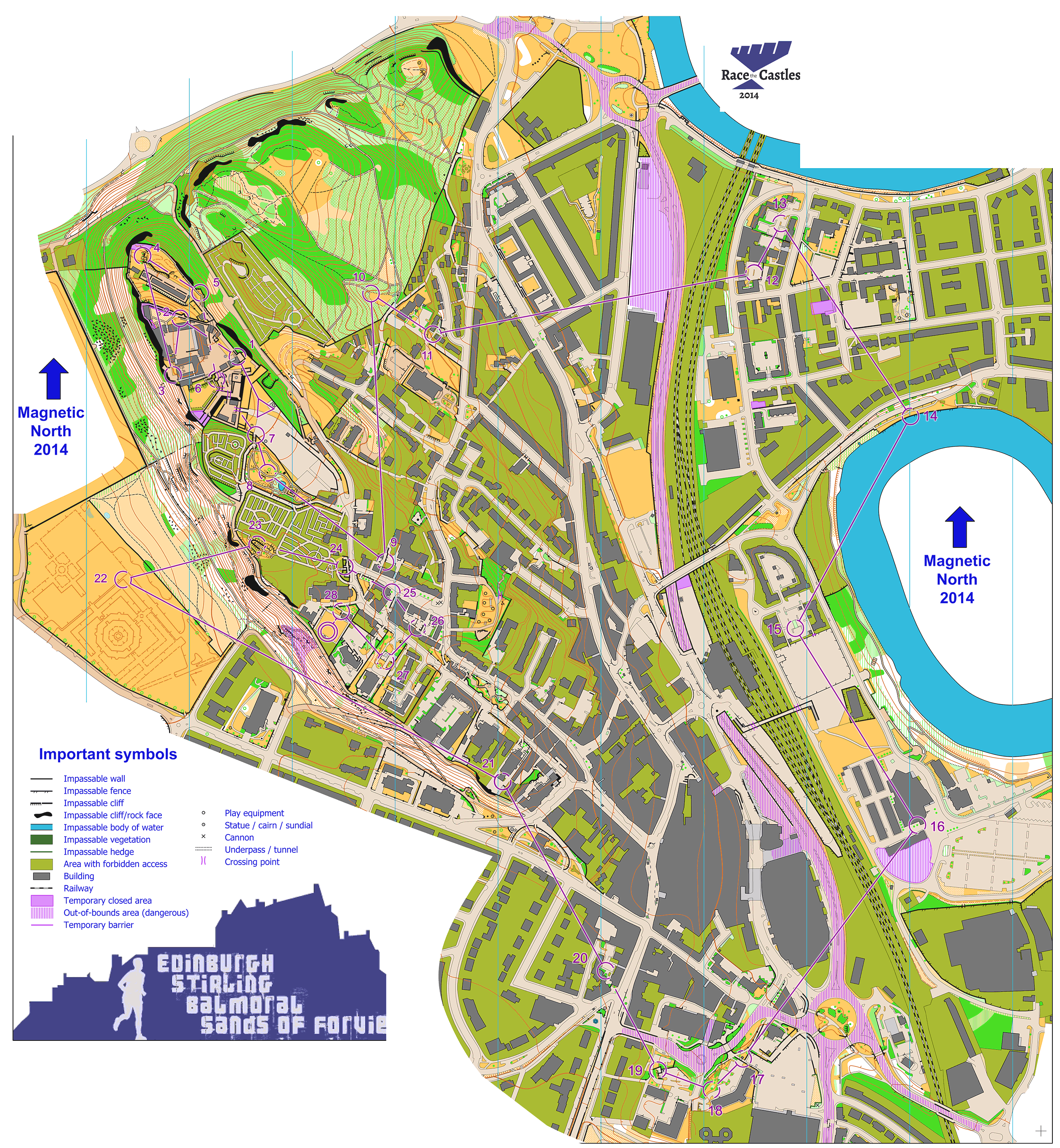 Race the castles stirling blue course october 12th 2014 request map deleted gumiabroncs Image collections