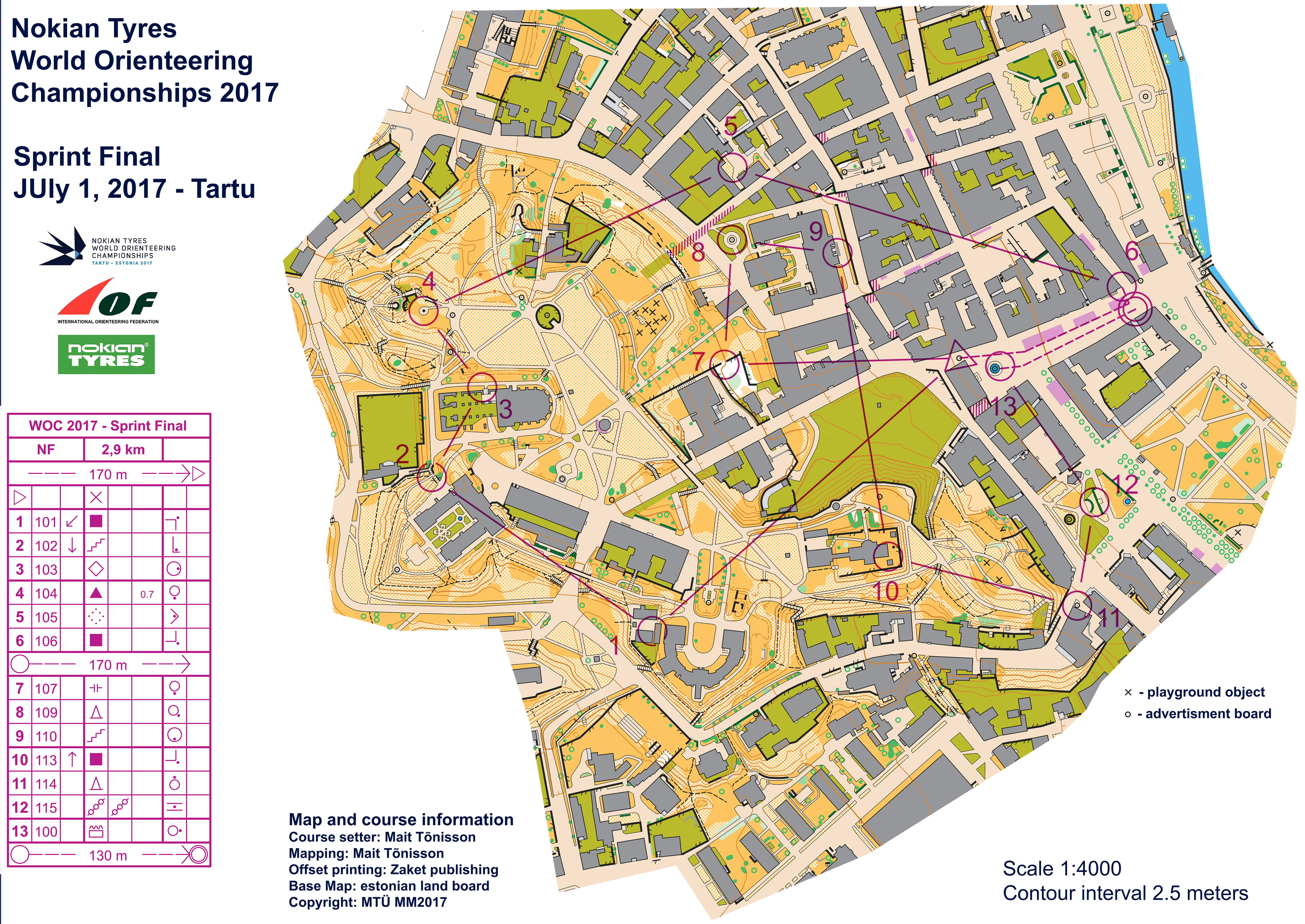 Woc 2017 sprint maps and results world of o news see map in omapsofo biocorpaavc